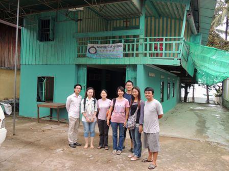 帶神學生、同工們參與在柬埔寨各個不同差會的宣教士事工和體驗不同的跨文化生活