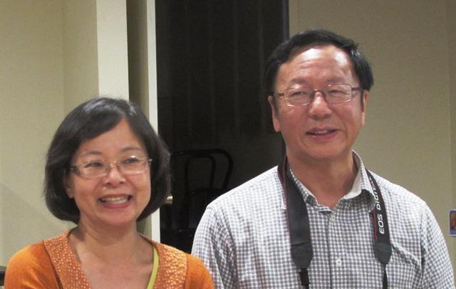 澳洲關懷協會總幹事何廣明牧師師母